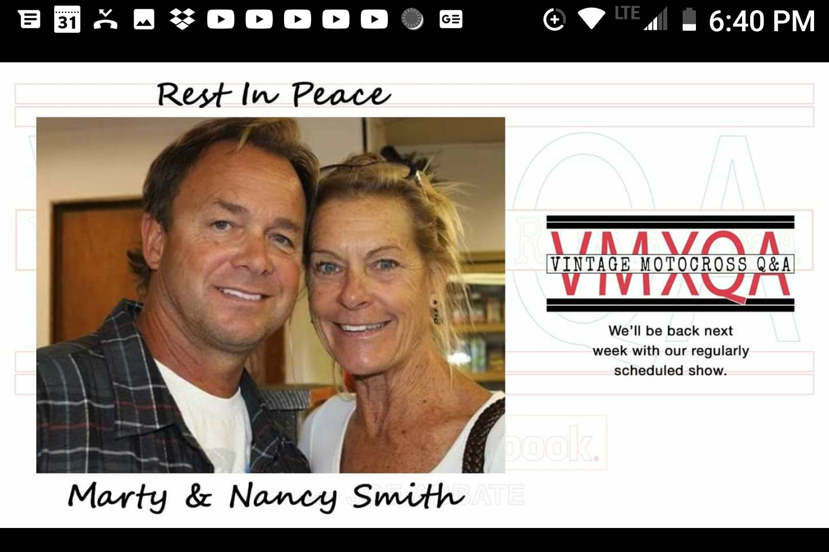 Marty and Nancy Smith